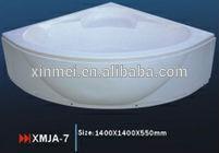 2015 New design curved bathtub, big bathtubs, tub surrounds