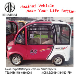 Electric Vehicle four wheelers for passenger closed FC-1