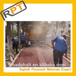 Hot Mix Asphalt for colored road