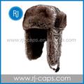 di alta qualità caldo e sotf moda comoda ushanka russo cappello di pelliccia