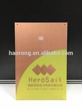 FR-4 fiberglass single side copper clad laminated sheet