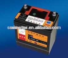 Maintenance free CAR Battery 12V RC 60AH