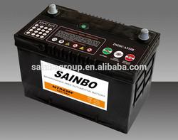 Standard DIN 12V45AH Lead Acid DIN45 MF car Battery maintenance free battery 12v 120ah