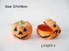 hot sale pumpkin decorations halloween paper pumpkin box