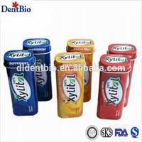 steel bottle natural low sugar xylitol tablets