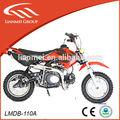 Enfants de gaz rouge mini motos 50cc électrique lancer dirt bike