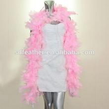 fashion decorative turkey feather boa cheap boa chandelle