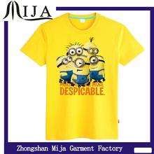 Advertising/Slogan/ message cheap T-shirts Minions printed t shirts