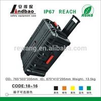 plastic trolley hard instrument tool case