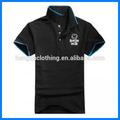 Fábrica 2014 100% la venta de algodón simple deporte t camisa de polo para los hombres