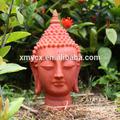 arte moderna escultura da cabeça de buda estátua do jardim