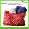 Hot Sale Quatrefoil Polyester Wholesale Beach Bags 2014