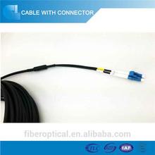 Duplex lc st-lc Armored fiber optic patch cord fiber optic jumper cable