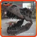 Dinosauro fossile testa 1.8m artificiale