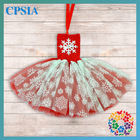 Queen Frozen Dress With Red Crochet top with Snowflak tulle tutu dress For Baby