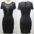 New fashion top quality ladies pictures of elegant casual dresses