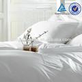 Hôtel ensemble de literie de coton 250tc/drap de lit/linge de lit de gros