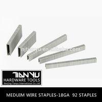 Wholesale! Manual staple gun for fine wire crown staple manufacture