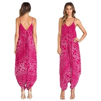 Summer india wholesale hippie clothing in jumpsuit