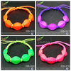 china supply hot sale wholesale new item cheap handmade cute colorful plastic lucky beads bracelets