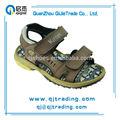 Tragen- beständig braun aus echtem billige leder kinder sandale