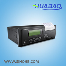 Huabao GPS digital tachograph HB-R03 veicle doubtful point analyse/driving data recorder