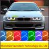 LED Rings Headlight RGB Multi-Color LED Angel Eyes Kit 4*159mm LED Rings
