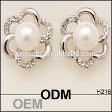 New faux pearl stud earrings for young women, alibaba factory new turkey earrings