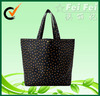 420D polyester full printing with star for ladies fashion handbags