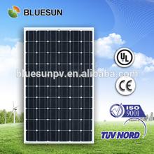 2014 Bluesun best efficiency low price European solar panel stand 250W