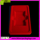 guangdong factory wholesale premimum PS blister flocking tray packaging