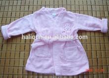 bebê bonito crianças roupão gola do quimono roupão em casa