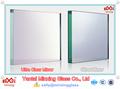 6mm produttore di porcellana doppio rivestimento senza piombo argento lastra di vetro a specchio