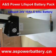 rechargeable e-bike lithium battery 24V 10Ah