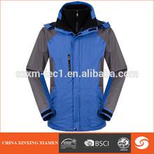 blue mens outdoor waterproof colorful ski jacket for skateboarding jacket stock jacket