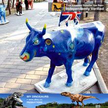 MY Dino-Garden decorative animal statue fiberglass animal cow