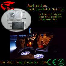 China Factory Hot sal LED car door logo projector light & Led car logo light & Welcome car light for Cadillac/Buick