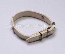 2014 wholesale decorative leather dog collar used dog training