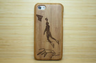 case for iPhone 5c , bamboo material case for iPhone