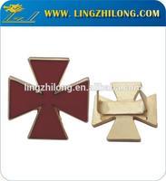 Custom Souvenir Badges Shield With U Pin