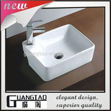 GT-401B wash hand basin ceramic cabinet vanity basin sanitary ware china basin