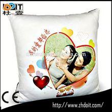 satin throw down pillow football fan cushion