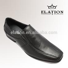 Wholesale men's PU dress shoes, square toe classic shoes