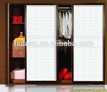 customized bedroom wooden wardrobe door designs