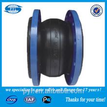 Carbon steel flange pn16 flexible rubber joint