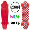 22'' & 27'' plastic and maple penny mini cruiser board and cruiser skateboard