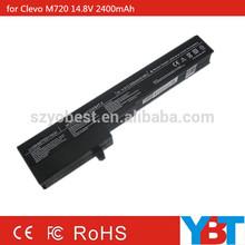 Rechargeable laptop battery 35.5Wh for Clevo M720 M730T S230 A20 M720BAT-8 M720SBAT-4 87-M72SS-4DF2
