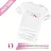 Popular 100% pima cotton t shirt wholesale basic t shirt for men