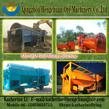 Mobile Small Scale Gold Mining Equipment with Low Invest Cost
