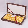 Personalizado de regalo de madera té, vino, la caja de joya, antiguos de madera caja de monedas